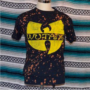 Wu-Tang Clan Shirt Distressed Medium